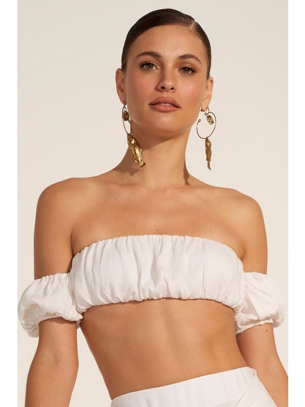 Top Banquete Off White